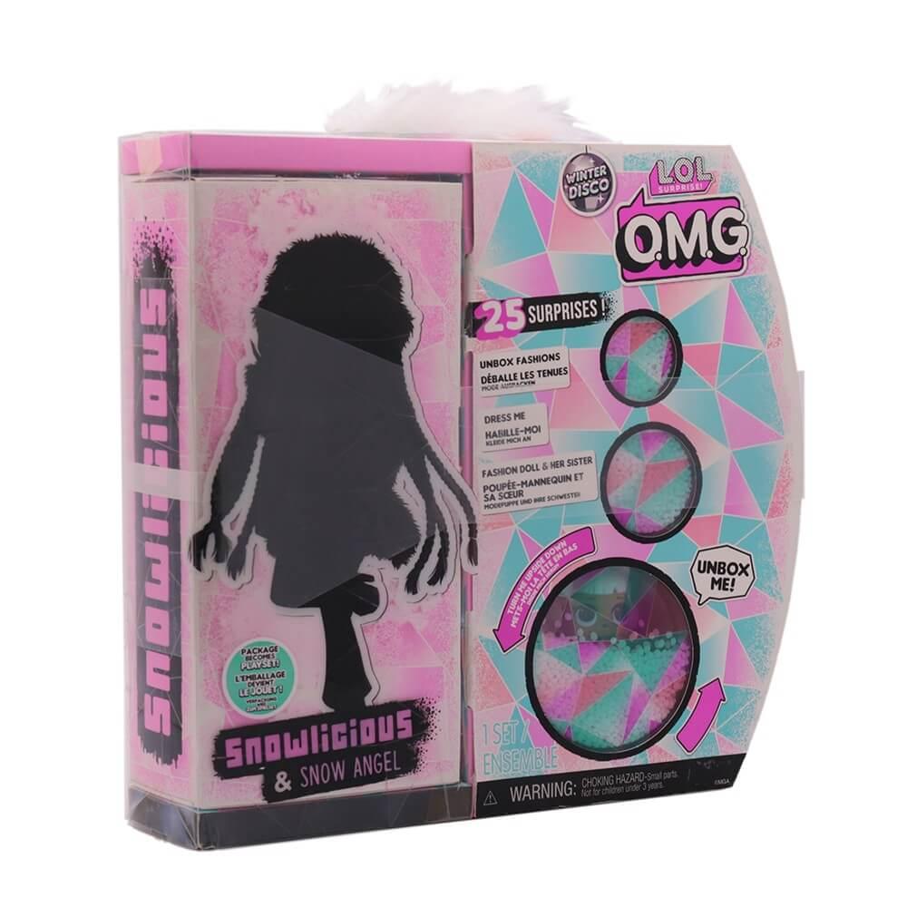Кукла LOL Surprise OMG Winter Disco Snowlicious And Snow Angel с 25 сюрпризами - 2