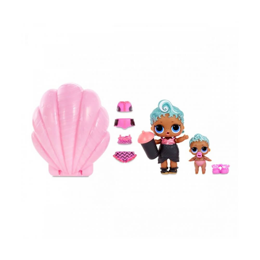 Кукла LOL Surprise Pearl (Лол-сюрприз Жемчужина) (розовый шар) - 5